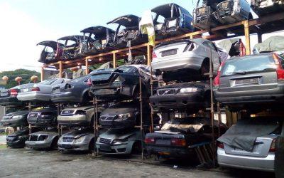 Sprzedaż samochodu na części